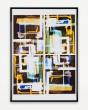 Photogramm (Collage Tusche); 47x61 cm © Johannes Raimann 2013