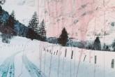 65 x 200 cm, Pigmentprint kaschiert & bearbeitet