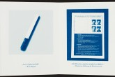 Cyanotypie, Linolschnitt, Video, 15 x 12 cm geschlossen, 144 x 15 cm geöffnet, 24 Seiten,  Johannes Raimann © 2015