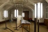 Ausstellungsansicht: »Glance« Wien © Johannes Raimann2016; Außerdem im Bild Arbeiten vom: Maria Magdalena Ianchis, Noha Kolb, Konstantinos Kyriakopoulos,