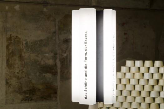 Ausstellungsansicht: »Glance« – Detail