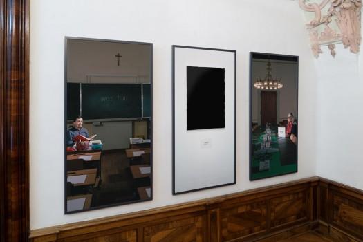 Ausstellungsansicht »Glance«